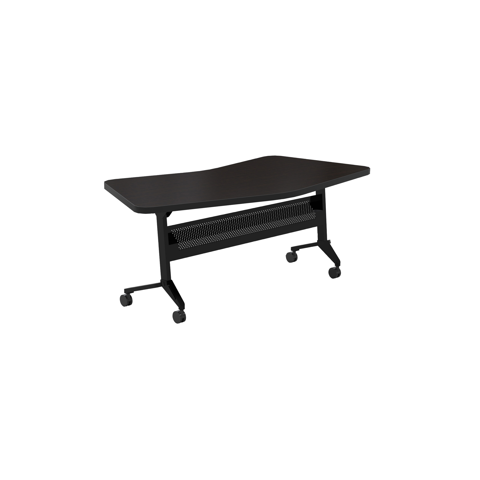 Biltmore Cherry Safco Products Flip-N-Go Training Table