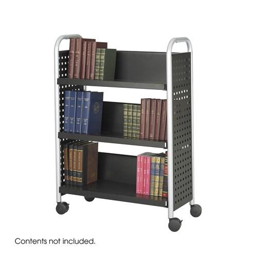 Safco Scoot Personal Contemporary Design Bookcase SAF1604BL
