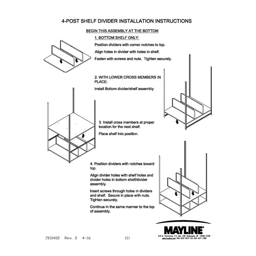 Four Post Shelf Divider Assembly Instructions_Cover.jpg