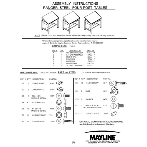 Ranger_Steel_Four-Post_Tables_Assembly_Instructions_Cover.jpg